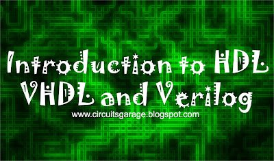 HDL - VHDL and Verilog