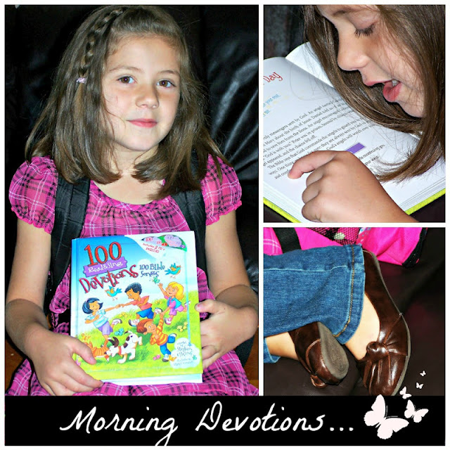 Morning Devotions on Starting Devotion Tme at a Young Age blog