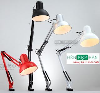 Đèn kẹp bàn -Chất lượng cao | 199k