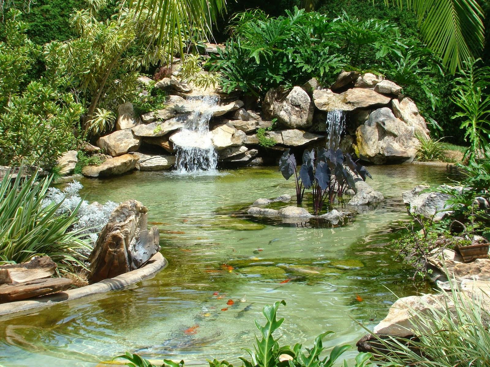 Como fazer um lago no jardim blog das art for Lagos de jardin