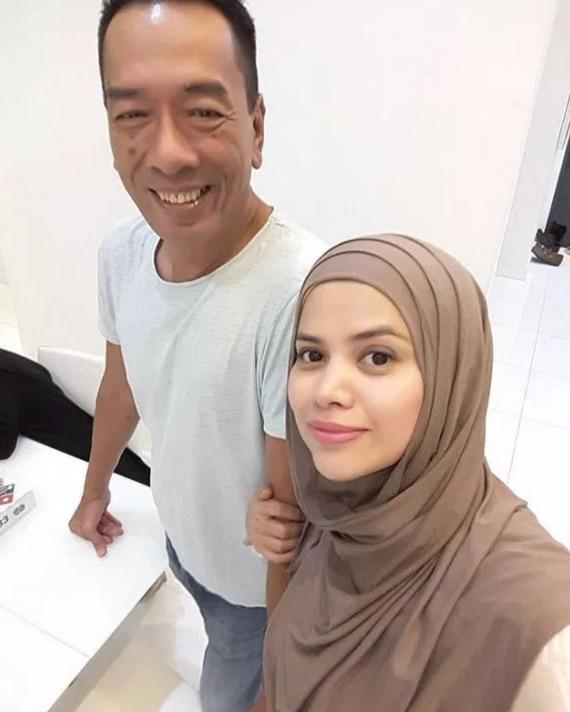 Romantiknya Datin Alyah sambut hari jadi Dato Ramli MS