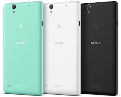 Pilihan warna Sony Xperia C4