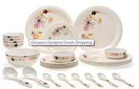 Groupon : Rs.1499 for a Choice of Diplomat 28-Piece Dinner Set