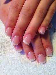 French white and French colored full hard gel nails $50
