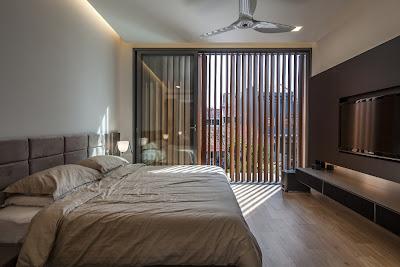 Rumah Minimalis Dengan Fasad Kisi-Kisi 6