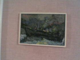 vingaribbo dipinto antico e giovanile in navigazione