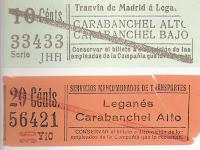 Historia del tranvía de Leganés. Abuelohara