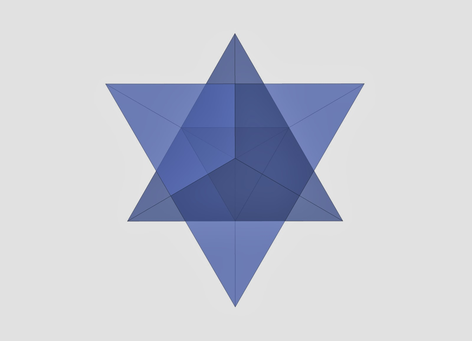 Star Tetrahedron Template Images
