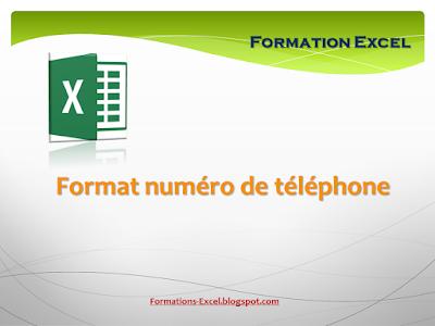 Format numéro de téléphone