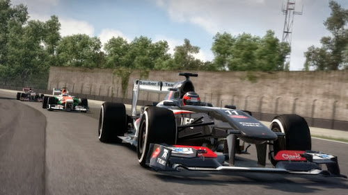 Screen Shot Of F1 Classic Edition (2013) Full PC Game Free Download At Downloadingzoo.Com