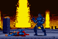 Darkseid wins.  You can see more of this match at Gay Game and Toon Heroes, my Yahoo group, found in the links section.
