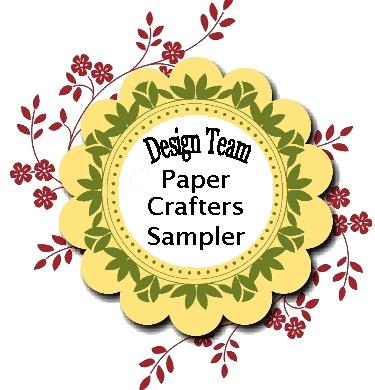 I design for the Paper Crafters Sampler