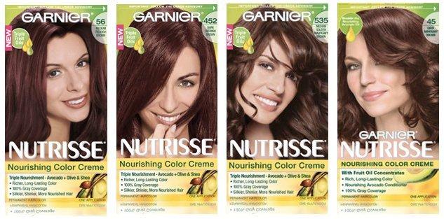 Garnier nutrisse l r sangria chocolate cherry chocolate caramel