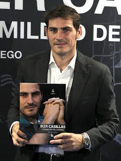 'La humildad del campeón' el libro de Iker Casillas