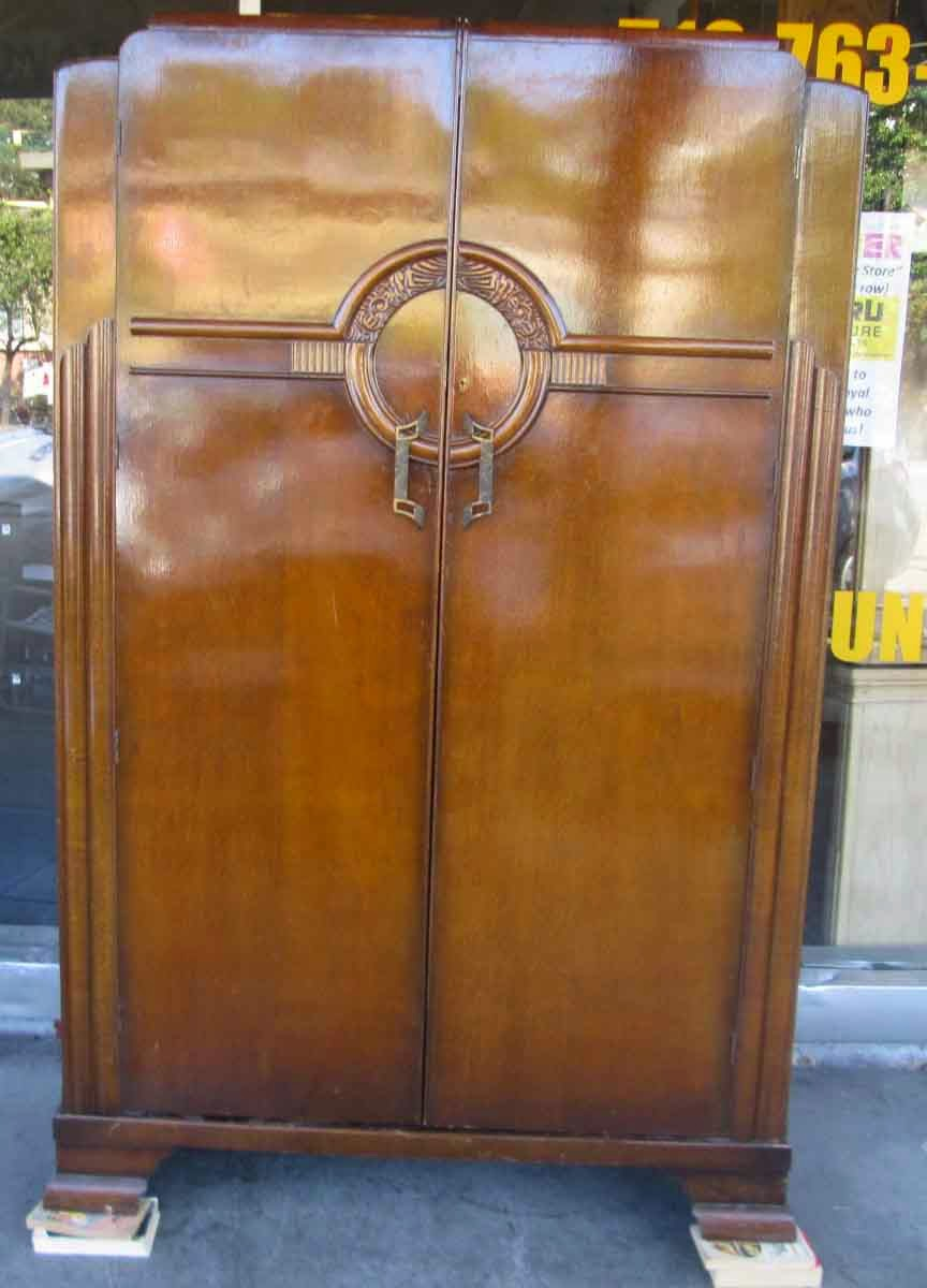 Uhuru furniture collectibles sold art deco hanging for Furniture to hang clothes