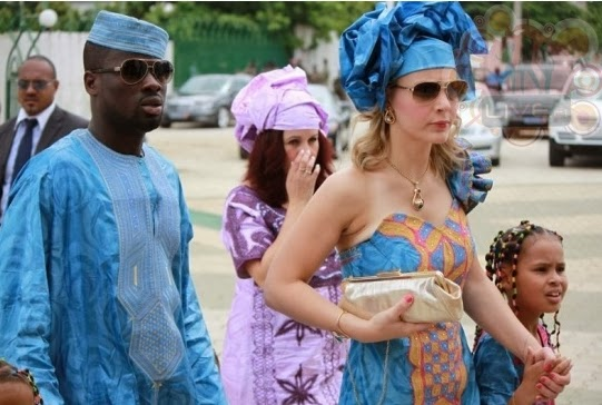 Yaya Toure have been marrid his wife told she will become MUSLIMYaya Toure Wife And Kids