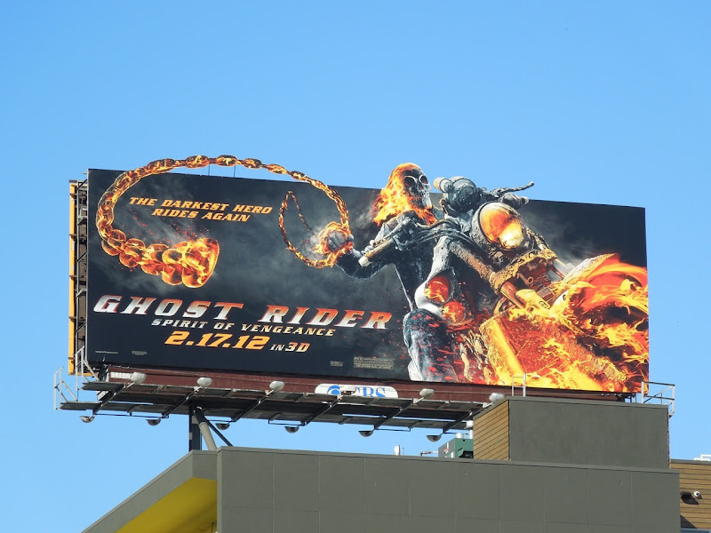 Ghost Rider Spirit of Vengeance billboard