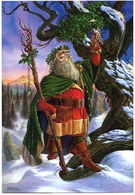 Dancing in the Shadows: Pagan Origins of Father Christmas