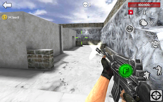 Screenshots of the Gun Strike Shooting War 3D for Android tablet, phone.