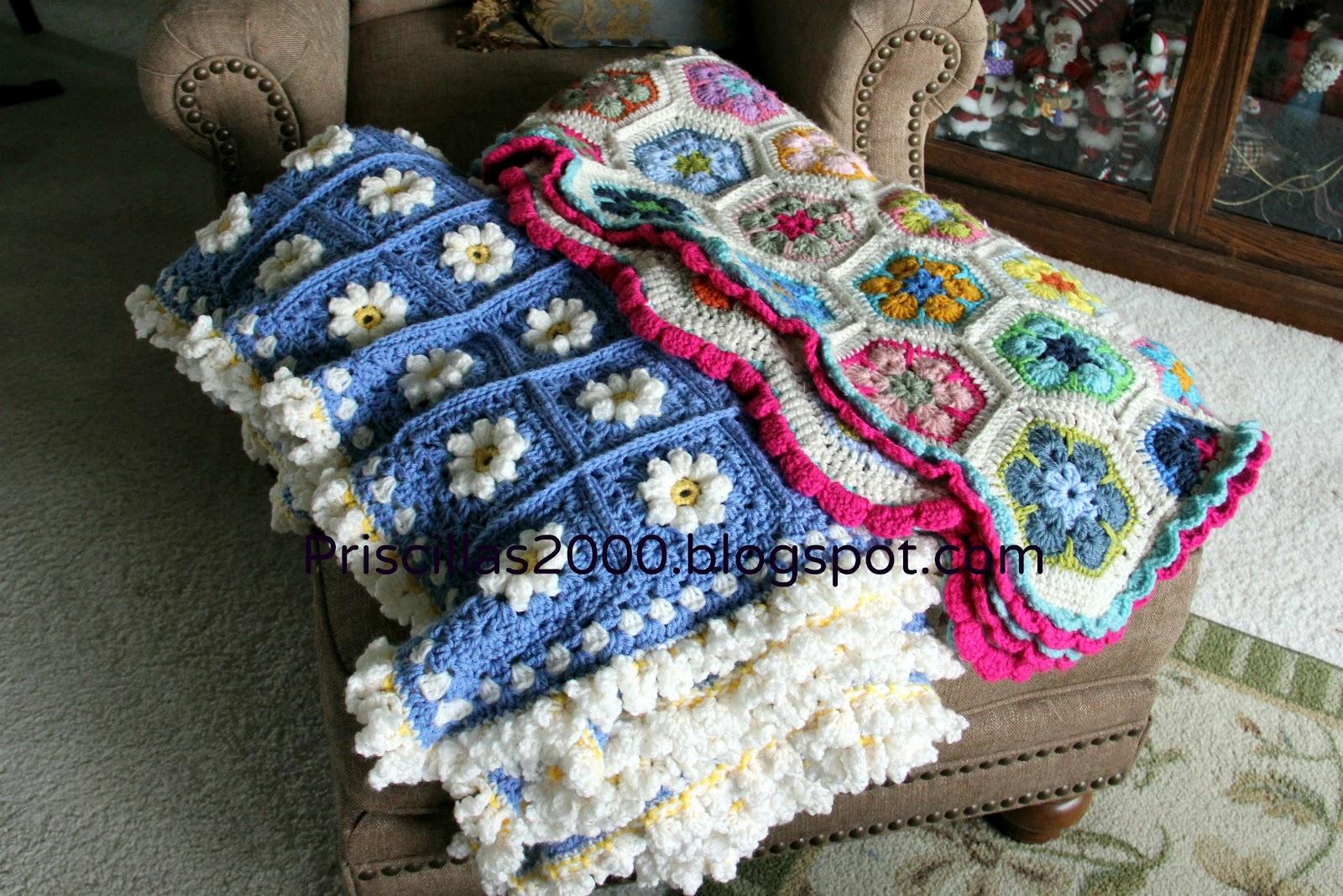 Crochet Flower For Prom