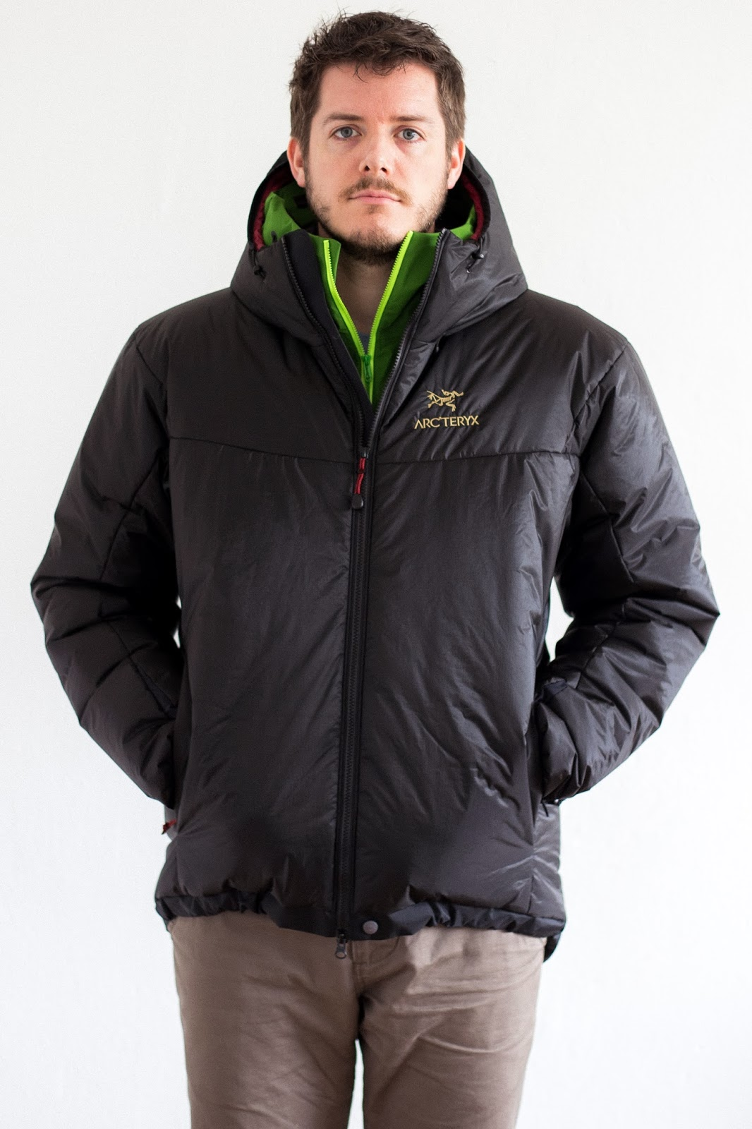 Arcteryx Dually Belay Parka - updated version