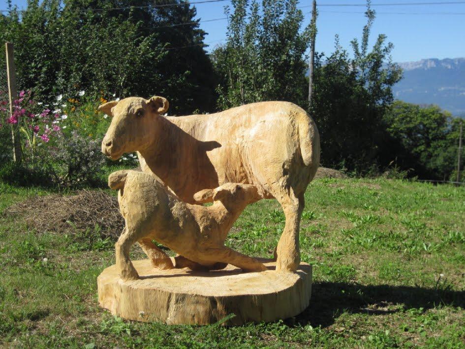 Sculpture sur bois la tron onneuse septembre 2011 - La sculpture sur bois ...