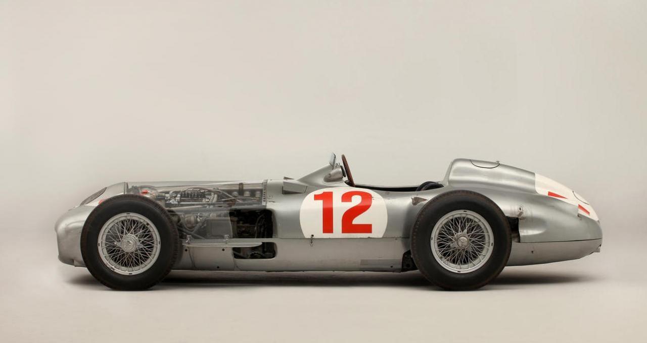 All motorsport nz 1954 mercedes benz w196r formula 1 car for Mercedes benz formula 1