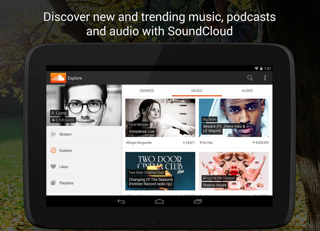 免費音樂 APP 推薦:SoundCloud APK Download