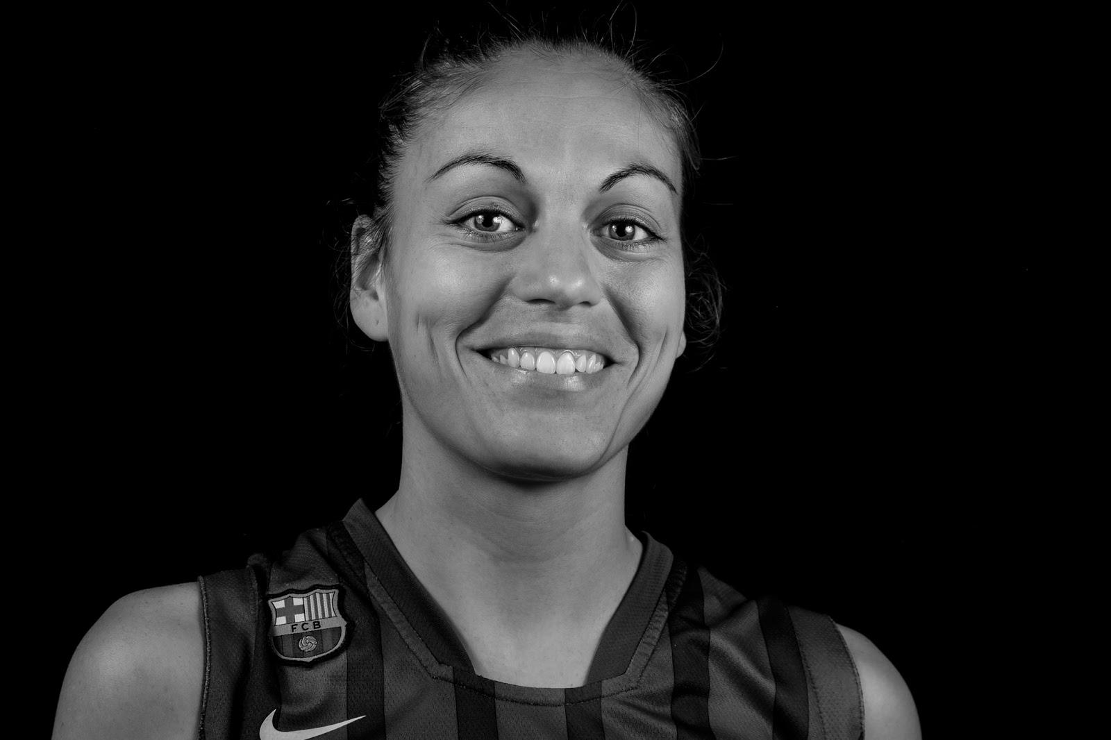 Raquel 08 - CBS Barça Senior Femenino A - 2013 :: Canon EOS 5D MkIII | ISO100 | Canon 24-105 @58mm | f/11 | 1/60s