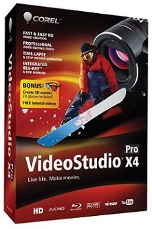 Capa Corel VideoStudio Pro X4 v14.0.0.342 + Serial