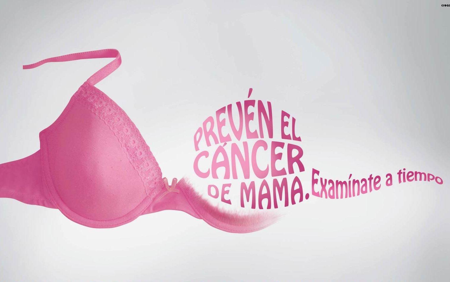Revísate y lucha contra el cáncer de Mama