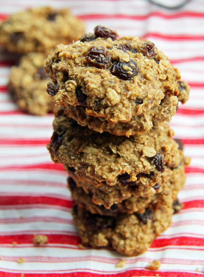 Mix it Up: Oatmeal Raisin Cookies