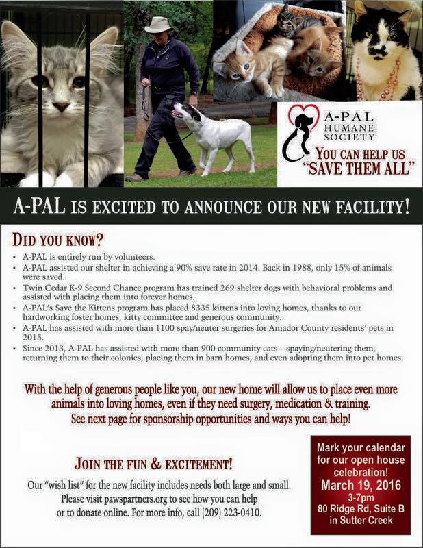 A-PAL Humane Society Open House - Mar 19