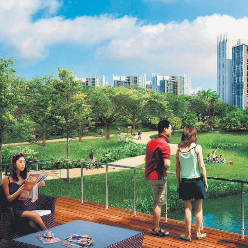 Bidadari estate: Melding greenery with heritage
