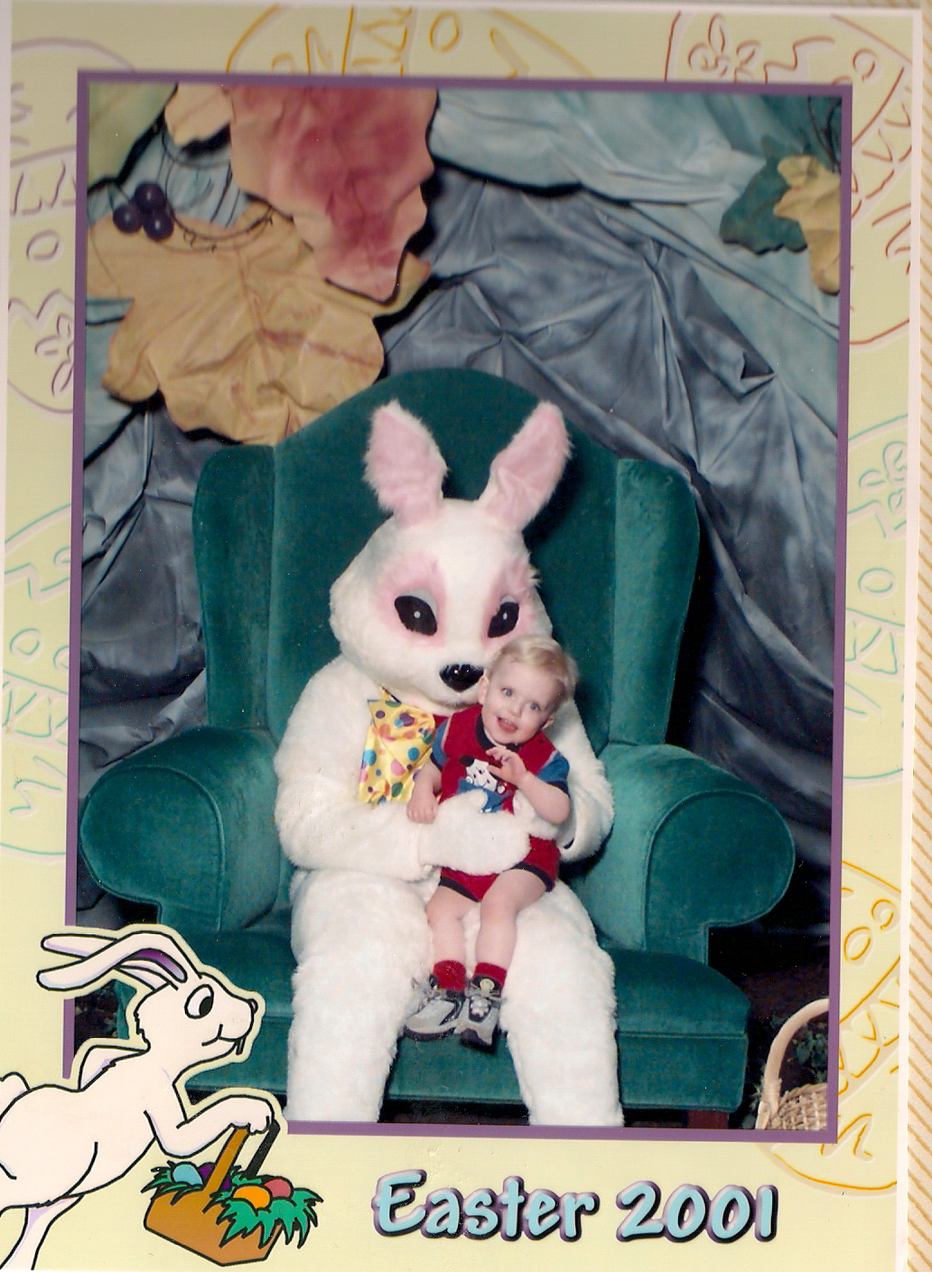 Scary Easter Bunny Photos The scary easter bunny: taking