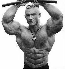 LEE PRIEST training back