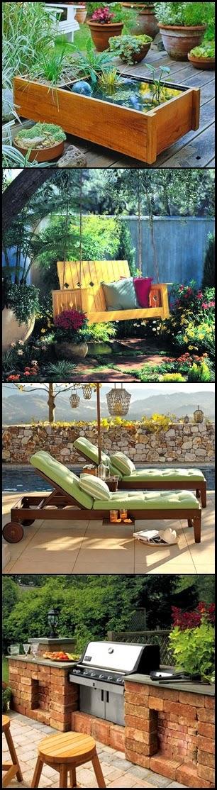 15 Creative DIY Patio and Garden Ideas