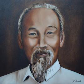L' Oncle Ho tel qu'il est representé sur les billets de banque du Vietnam