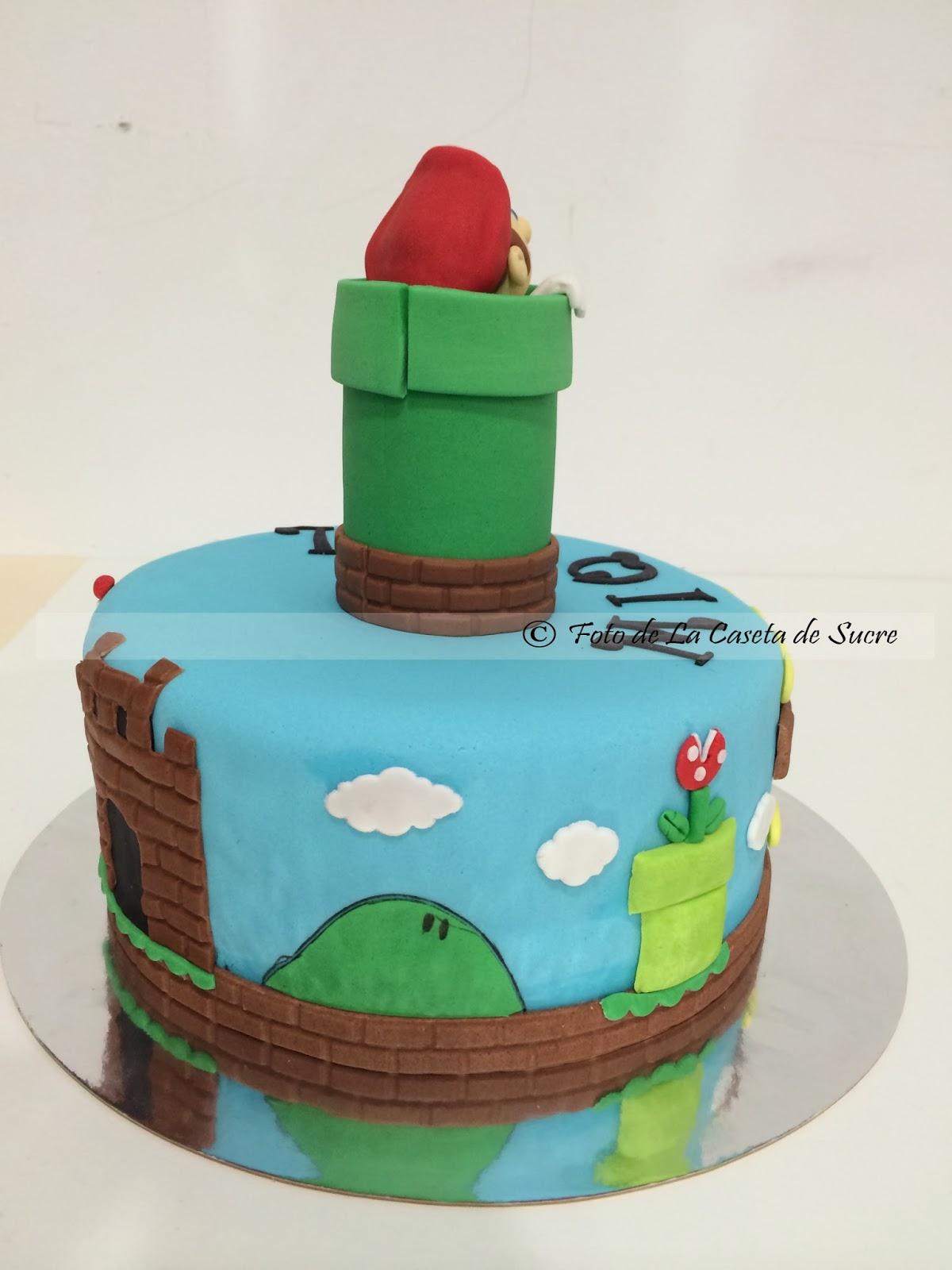 tarta mario bros 2