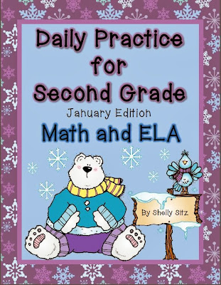 http://www.teacherspayteachers.com/Product/Daily-Practice-for-Second-Grade-January-1034272