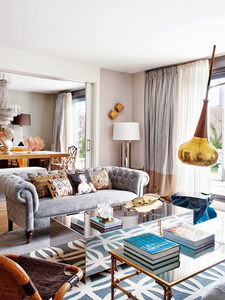 Ev dekorasyon hob madrid 39 te bir ev dekorasyonu - Salones nuevo estilo ...