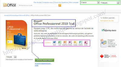 Partage informatique t l charger microsoft office 2010 fr avec cl d 39 activation - Cle activation office pro 2010 ...
