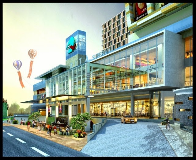 Rita Supermall and Hotel Purwokerto Plan