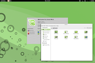 lmde gnome shell