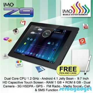 IMO Tab Z9, Harga dan Spesifikasi