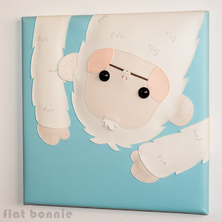 FlatBonnie-Year-Of-The-Monkey-Giant-Robot-Arctic-wall-art