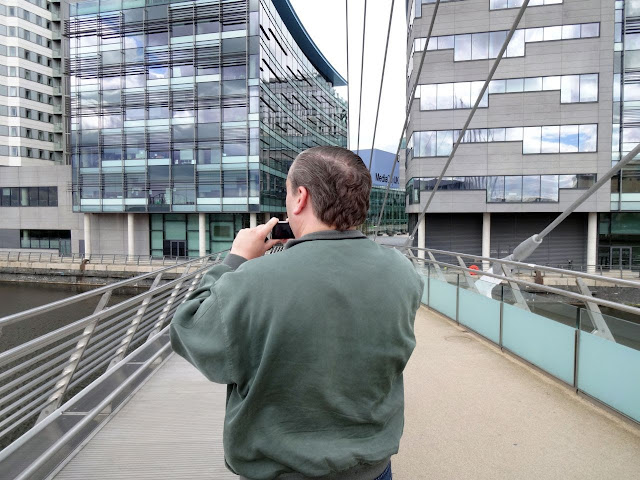 The bald spot at MediaCity UK.