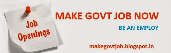 MAKE GOVT JOB NOW