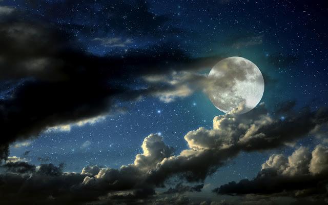 Imagen de HD Fondo Luna Llena