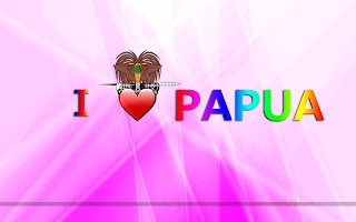 LOVE PAPUA WALLPAPER